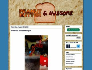 pbandawesome.com screenshot