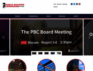 pbcchicago.com screenshot