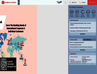 pbebank.com screenshot