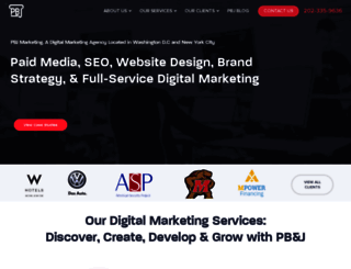 pbjmarketing.com screenshot