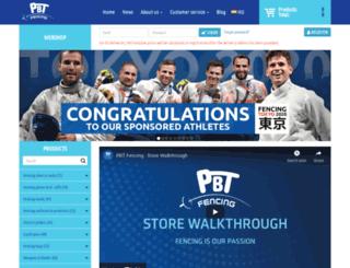 pbtfencing.com screenshot