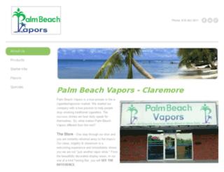 pbvaporsclaremore.com screenshot