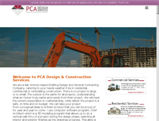 pcadesignandconstruction.com screenshot