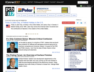 pcb.iconnect007.com screenshot
