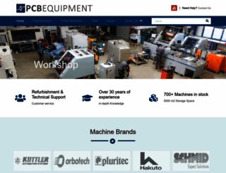 pcbequipment.com screenshot