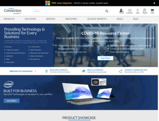 pcconnectionexpress.com screenshot