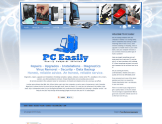 pceasily.co.uk screenshot
