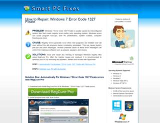 pcerrorfixsoftware.com screenshot