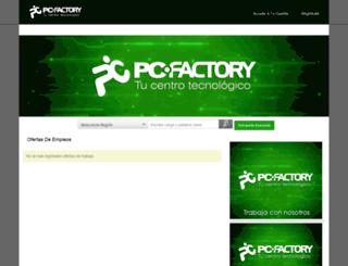 pcfactory.trabajando.cl screenshot