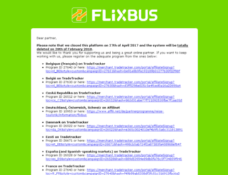 pcid.flixbus.de screenshot