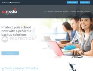 pcmedia.co.nz screenshot