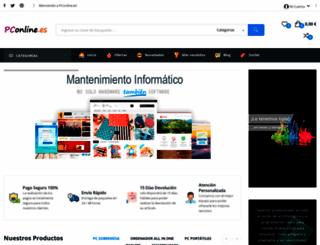 pconline.es screenshot