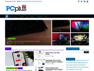pcplus.co.id screenshot