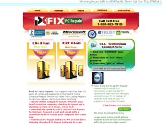 pcquickfix.net screenshot