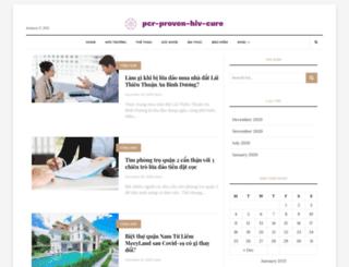 pcr-proven-hiv-cure.com screenshot
