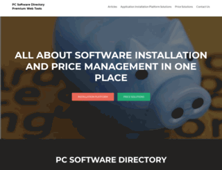 pcsoftwaredirectory.com screenshot