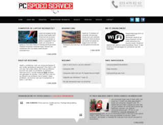 pcspoedservice.nl screenshot