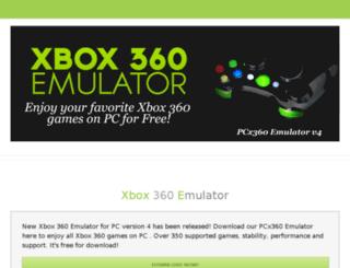 pcx360emulator.com screenshot