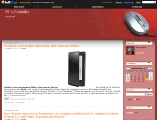 pcyportatiles.fullblog.es screenshot