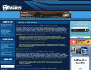 pda.bluesnews.com screenshot