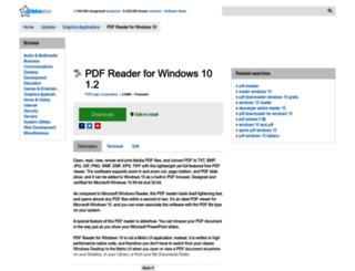 pdf-reader-for-windows-10.updatestar.com screenshot