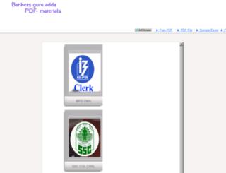 pdf.bankersguruadda.com screenshot