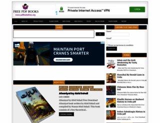 pdfbooksfree.org screenshot