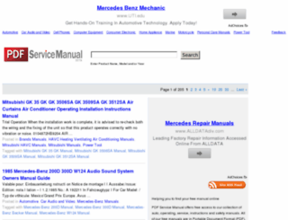 pdfservicemanual.com screenshot