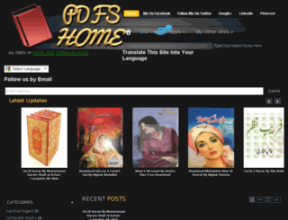 pdfshome.blogspot.com screenshot