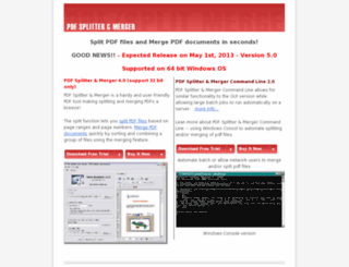 pdfsplit.com screenshot
