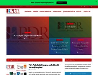 pdr.org.tr screenshot