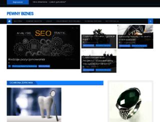 pea.org.pl screenshot