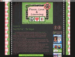 peacelovelearning.blogspot.com screenshot
