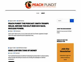 peachpundit.com screenshot