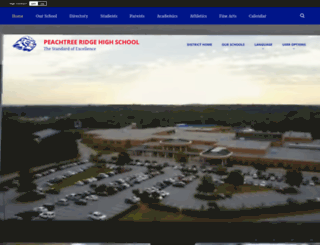 peachtreeridge.org screenshot