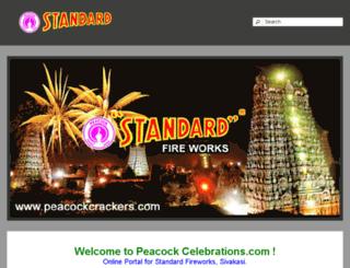 peacockcelebrations.com screenshot