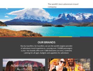 peakadventuretravel.com screenshot