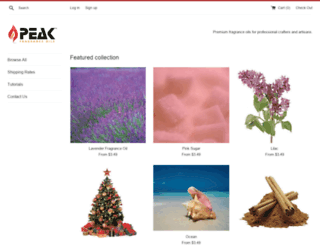 peakcandle.com screenshot