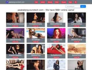 peaksberg-eurotech.com screenshot