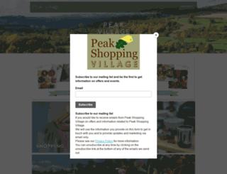 peakshoppingvillage.com screenshot