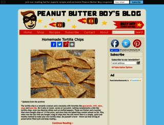 peanutbutterboy.com screenshot