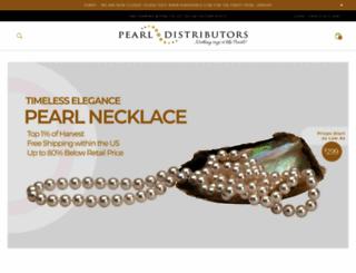 pearldistributors.com screenshot