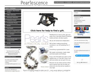 pearlescence.co.uk screenshot
