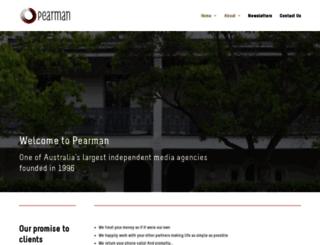pearman.com.au screenshot