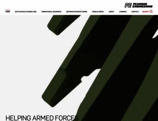 pearson-eng.com screenshot