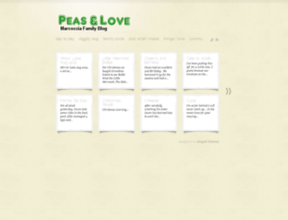 peasandlovefor.us screenshot