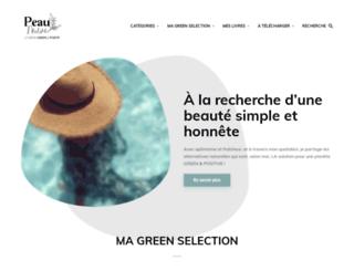 peau-neuve.fr screenshot