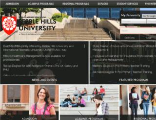 pebblehills.edu screenshot