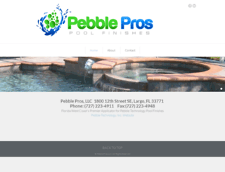 pebblepros.com screenshot