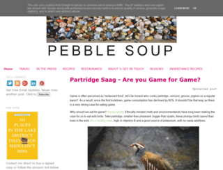 pebblesoup.co.uk screenshot